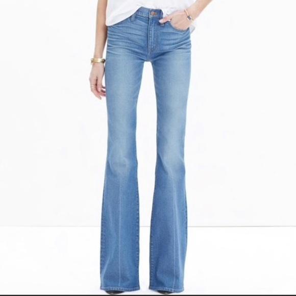 Madewell Denim - Madewell flea market flair jeans 25